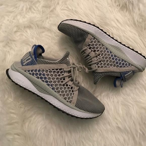 Puma Tsugi NetFit EvoKnit sneakers grey womens 8.5